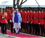 Dar es Salaam (Tanzania): Ceremonial welcome for Modi
