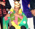 Dasari Swarna Kankanam Presented to Mohan Babu