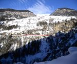 SWITZERLAND-DAVOS-PASSENGER TRAIN