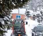 SWITZERLAND DAVOS WEF SNOW