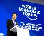 SWITZERLAND DAVOS WEF ANNUAL MEETING ITALY CONTE