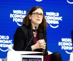 SWITZERLAND DAVOS WEF ANNUAL MEETING EU MALMSTROM