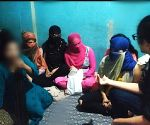 Several Girls rescued from a spa