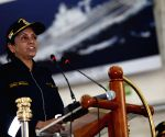 Nirmala Sitharaman witnesses operational manoeuvres of the Western Fleet ships