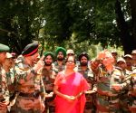 Nirmala Sitharaman, Army chief review security situation in Kashmir Valley