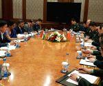 Bishkek (Kyrgyzstan): Bilateral meet - Nirmala Sitharaman, Wei Fenghe