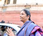 Nirmala Sitharaman at Parliament