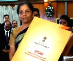 "Nirmala Sitharaman launches ""SPARK"