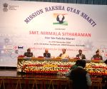 Nirmala Sitharaman at the launch of Mission Raksha Gyan Shakti