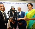 """Nirmala Sitharaman launches """"Indigenous 3DR Stereotactic System"""