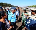 Nirmala Sitharaman visits site of Aero show fire