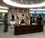 India, Korea sign Agreements