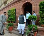 Rajnath Singh at Parliament