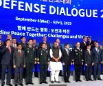 Rajnath Singh at Seoul Defence Dialogue 2019 in Korea