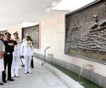 Rajnath Singh visits National War Memorial
