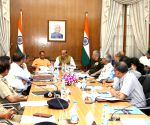 Apex Committee Meeting for DefExpo 2020 - Rajnath Singh
