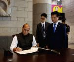 Rajnath Singh visits War Memorial in Korea