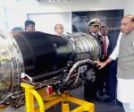 Rajnath Singh visits engine making facility for Rafale in France