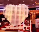 Delhi airport celebrates Valentine's Day in style