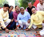 Diwali celebrations at BJP office