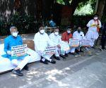 delhi BJP President, Adesh Gupta, LoP, Ranveer Singh Bidhuri along with all BJP MLAs will demonstrate against Kejriwal's false promise of giving Ration kit to the poor at CM 's house 6 Flag Staff Road in New Delhi