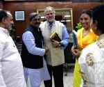 Satish Upadhyay meets Najeeb Jung
