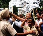 Delhi businessmen's  demonstration