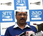 Arvind Kejriwal 's press conference
