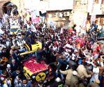 Arvind Kejriwal holds roadshow in Badarpur