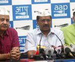 Arvind Kejriwal's press conference
