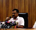 Delhi CM's press conference