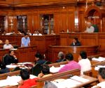 Kejriwal addresses at state assembly