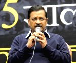 Kejriwal launches interactive website ahead of Delhi polls