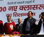 Delhi CM, Dy CM lay foundation stone for 11,000 new classrooms