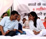 Kejriwal meets Maliwal on Day 3 of her fast