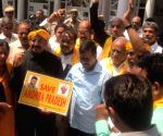 Kejriwal meets TDP MPs