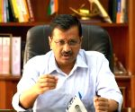 Kejriwal holds videoconference with Delhi MPs