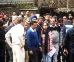 Arvind Kejriwal visits Hotel Arpit Palace