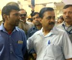 Arvind Kejriwal visits Sanjay Gandhi Hospital