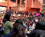 Swati Maliwal visits Gargi College