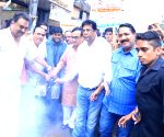 Ajay Maken launches fogging drive