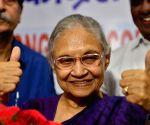 Sheila Dikshit inaugurates Congress' control room for Lok Sabha elections