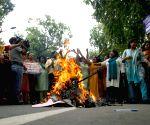 Congress demonstration against NDA government