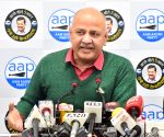 No competition from Congress, BJP: Manish Sisodia