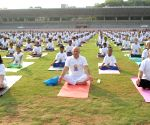 International Day of Yoga  - Manish Sisodia