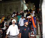 Delhi Dynamos FC players at Bangal Shahib Gurdwara
