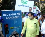 Gopal Rai visits ITO Red Light to inspect implementation and public response on 'Red Light On Gaadi Off' campaign