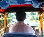 Delhi's first woman auto driver Sunita Choudhary