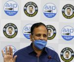 Satyendra Jain's press conference