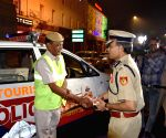 Delhi Police Commissioner on Duty on Diwali